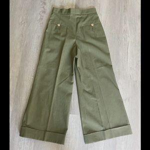 ❤️sale❤️Chanel 17C high waist wide pants